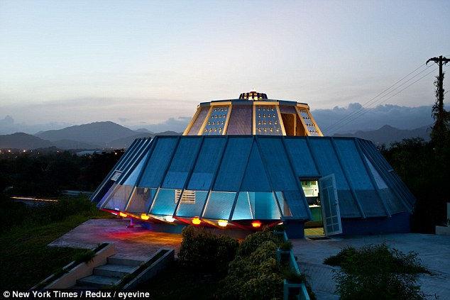 Любовная история дома в форме НЛО (Пуэрто-Рико)