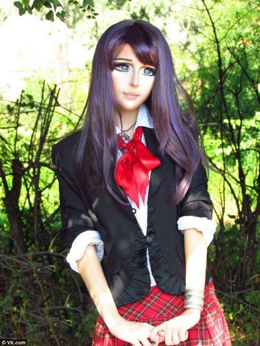 Анастасия Шпагина: девушка-кукла (Украина)
