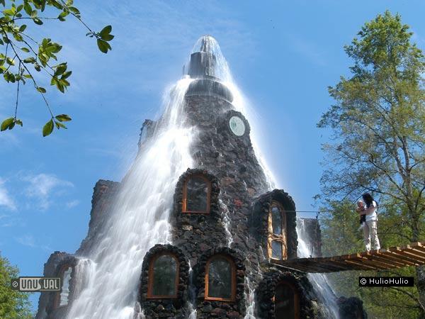 Magic Mountain: отель-вулкан (Чили)