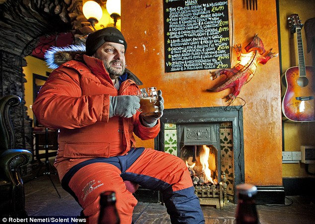 Pole-Axed: пиво для Антарктиды (Англия)