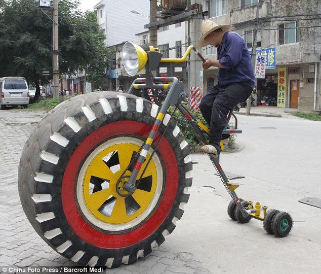 Велосипед Ли Лянжи