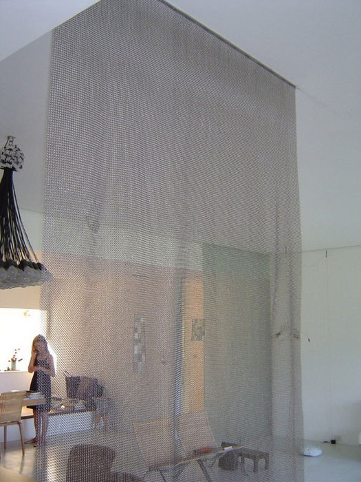 Whiting & Davis: металлические шторы (США)