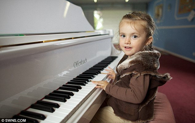 Лавиния Рамирес: маленькая мисс Моцарт (Англия)