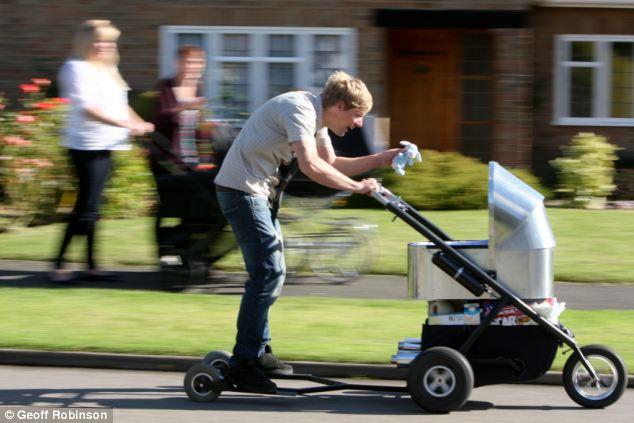 Самая быстрая коляска в мире (Англия)