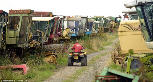 Крупнейшая частная коллекция сельхозтехники (Англия)