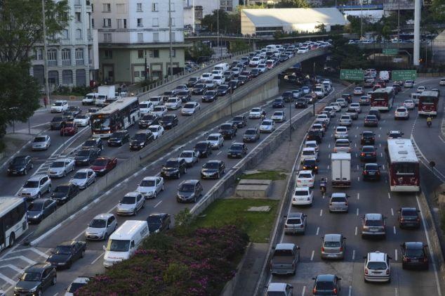 Сан-Паулу: город с самыми длинными пробками (Бразилия)