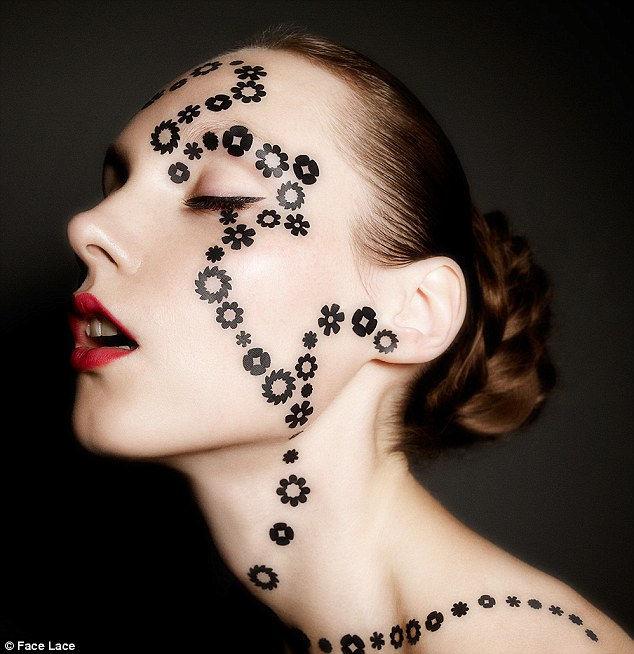 Кружевной макияж от Филлиса Кохена