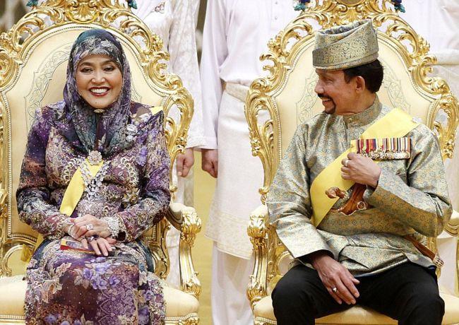 Неземная роскошь свадьбы дочери султана Брунея