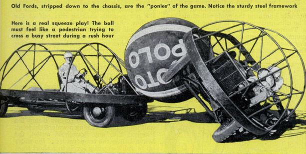 Мото Поло: автомобильное поло (1951)
