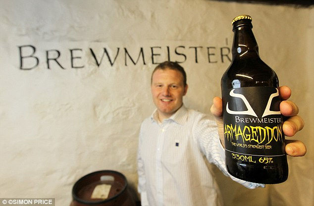 «Армагеддон»: самое крепкое пиво в мире (Англия)