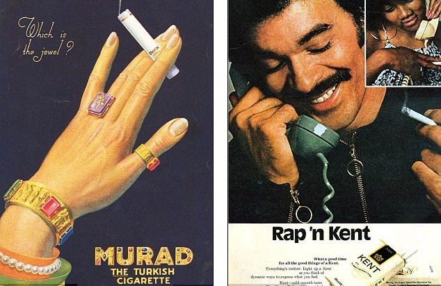 Винтажная реклама сигарет (США)