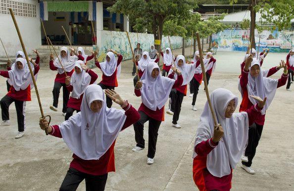 Исламская школа в буддистском Таиланде