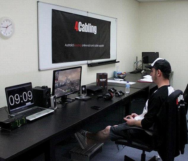 Окан Кай: 135 часов компьютерных игр (Австралия)