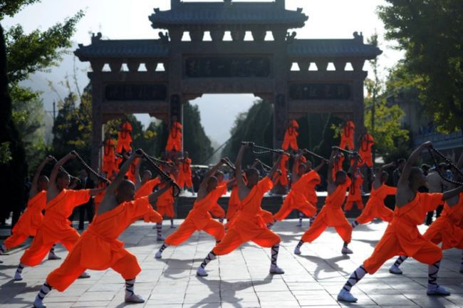 Шаолиньский фестиваль боевых искусств (Китай)
