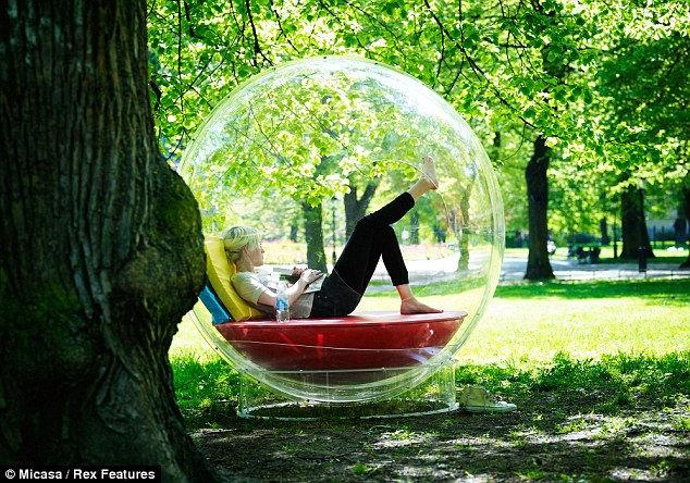 Cocoon 1: шар для уединения (Швейцария)