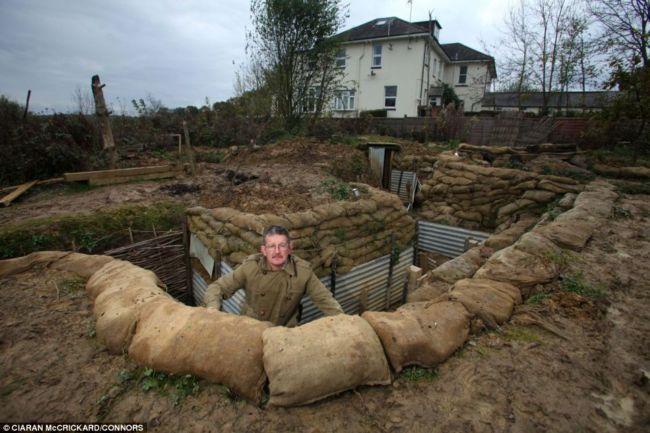 Эндрю Робертшоу: вместо сада – окопы (Англия)