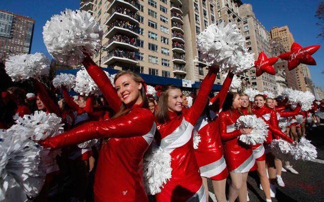 Парад в честь Дня благодарения в Нью-Йорке 2012 (США)