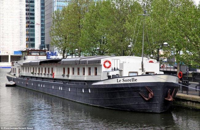 Le Sorelle: роскошный плавучий дом (Англия)