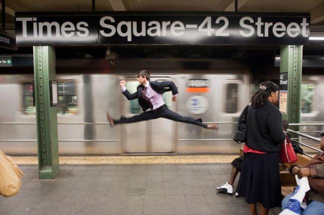 Танцоры среди нас: фотопроект Джордана Маттера