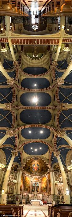 Интерьеры самых красивых храмов Нью-Йорка (США)