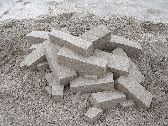 Песчаная геометрия от Кельвина Зайберта