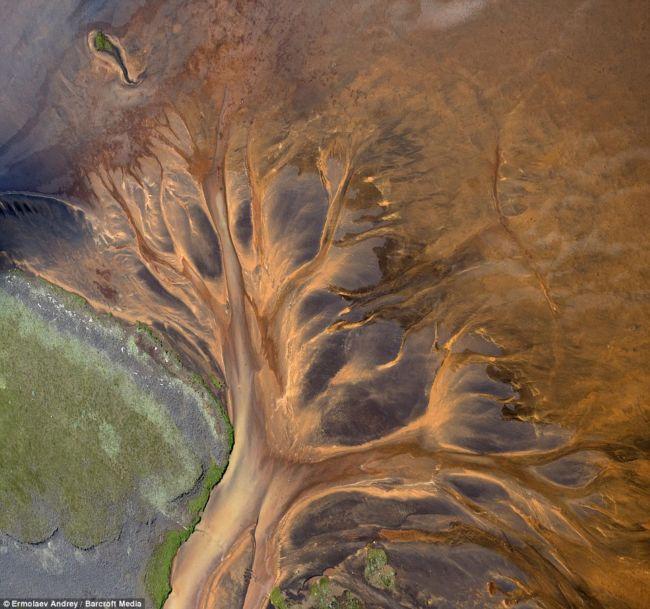 Инопланетные пейзажи Исландии от Андрея Ермолаева