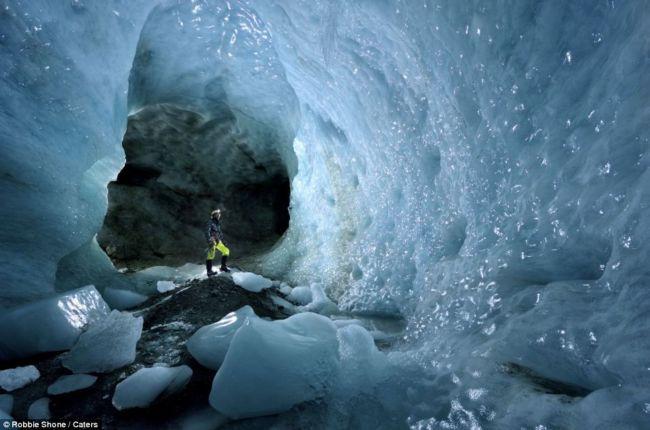Мулен: ледниковые пещеры (Швейцария)