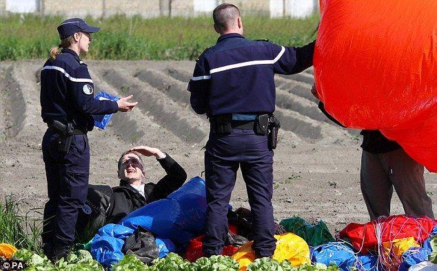 Джонатан Трапп: на воздушных шариках через Атлантику (США)