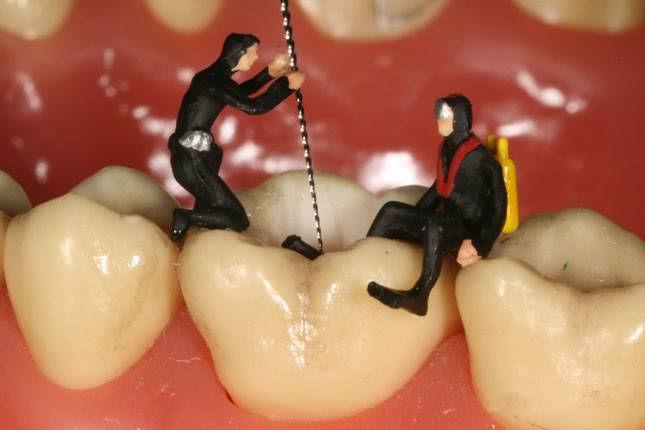 Toothville: творческая стоматология от Яна Дэвиса