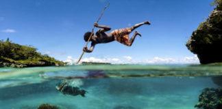Копье, сила и точность: рыбная ловля в Новой Каледонии