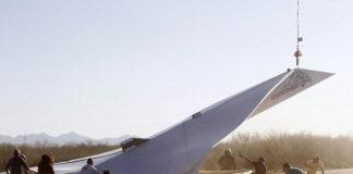 Arturo Desert Eagle: самый большой бумажный самолет (США)