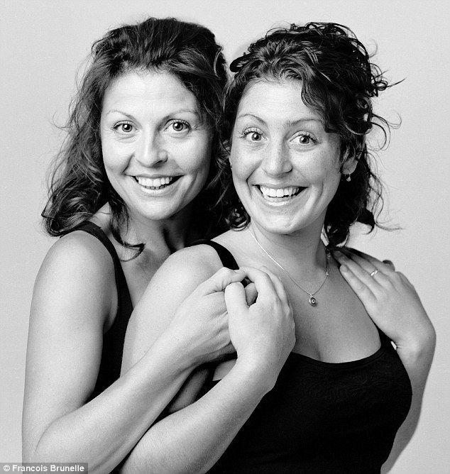 Фотопроект Франсуа Брунеля: незнакомые близнецы