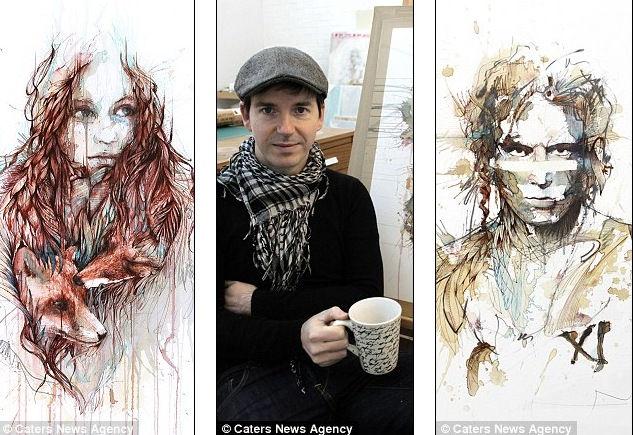 Чайные картины от Карне Гриффитса