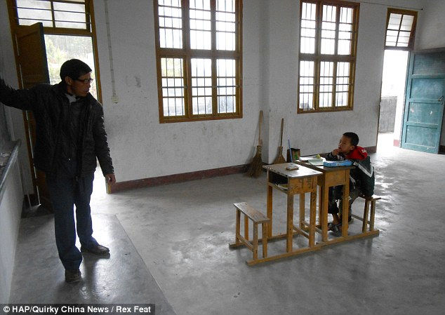 Ху Ян: школа для одного ученика (Китай)