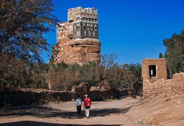 Дар аль-Хаджар: Дворец Имама на Скале (Йемен)