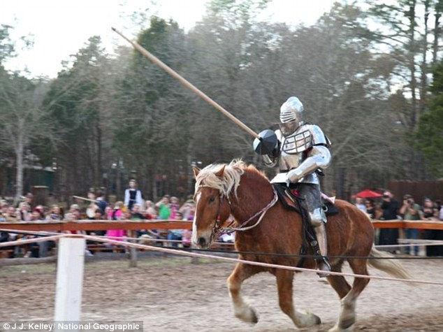 Knights of Mayhem: рыцарство как спорт (США)
