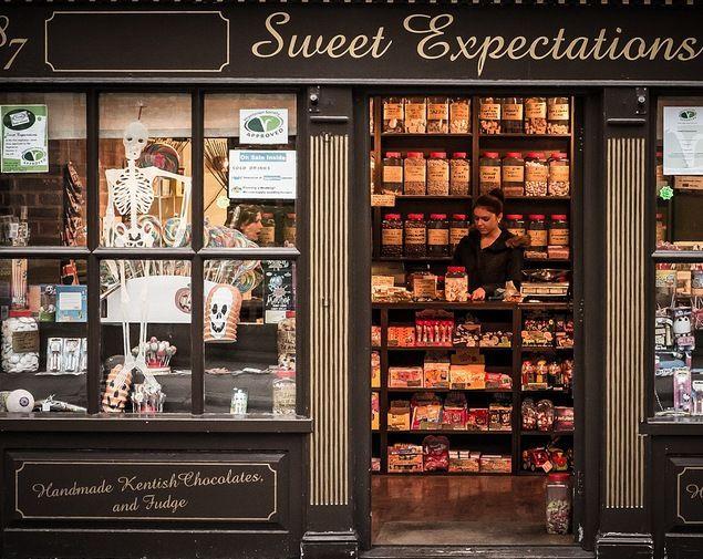 Сладкие Предвкушения: магазин вегетарианских сладостей (Англия)