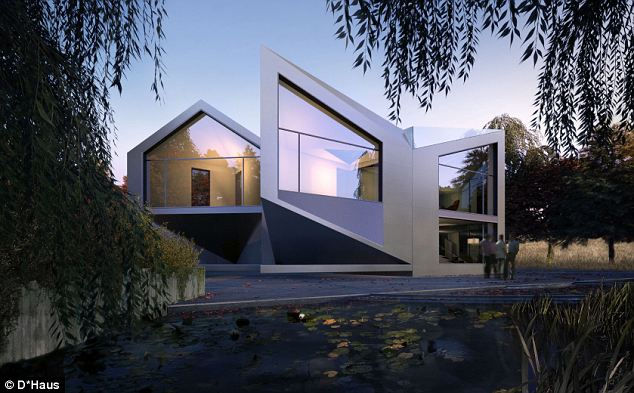 D*Dynamic: дом-оригами (Англия)