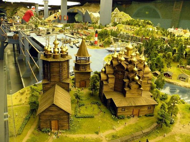 Страна как на ладони: гранд-макет России