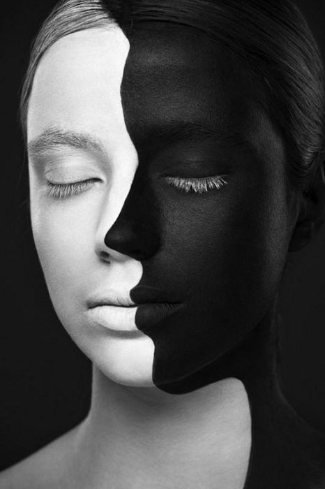 Weird Beauty: черно-белая красота от Валерии Куцан и Александра Хохлова
