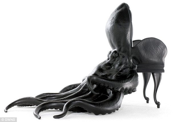 Биологическая мебель от Максимо Риеры