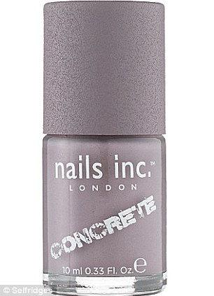 Concrete: бетонный лак от Nails Inc (Англия)