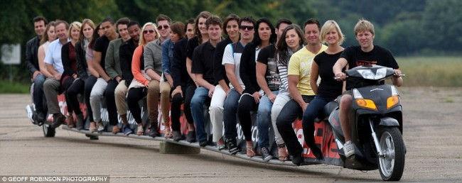 Самый длинный мотоцикл (Англия)