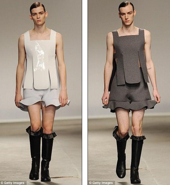 Самые невероятные модели Лондонской Недели мужской моды