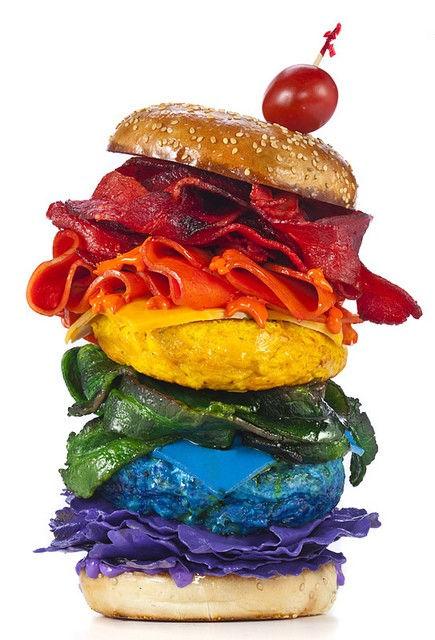 Генри Харгривз: еда цвета радуги (США)