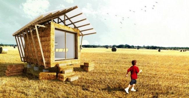 Дом Гнездо: цивилизованный сеновал (Франция)