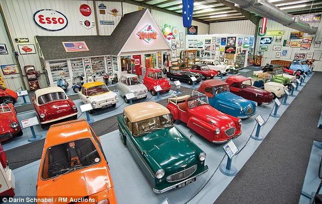 Брюс Вайнер, крупнейшая в мире распродажа микроавтомобилей (Англия)