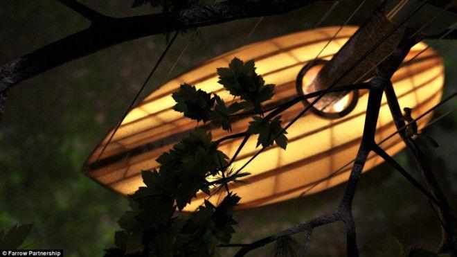 E'Terra: пятизвездочный подвесной отель (Канада)
