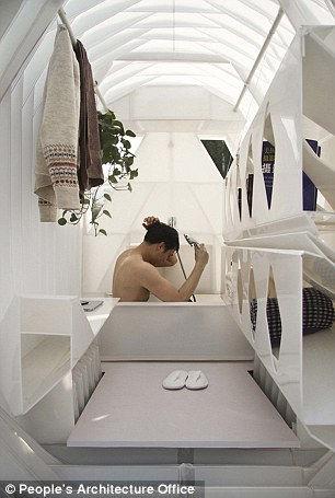 Трехколесные дома: государственное решение жилищной проблемы в Китае.