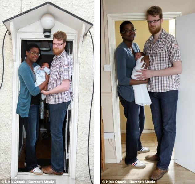 Кейша и Вилко, самые высокие родители
